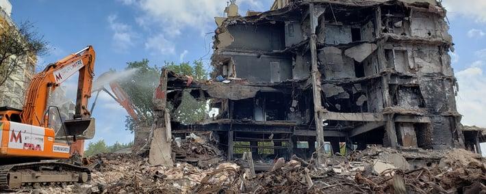Grupo Mitre respuesta a siniestros demoliciones