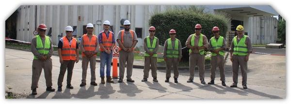 Grupo Mitre capacitación del personal demoliciones